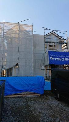 千歳市でクイーンアンを建築中♬