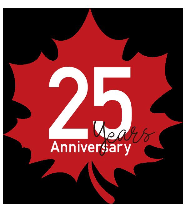 カナダ輸入住宅販売25周年♬