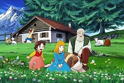アニメの世界のお家