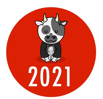 2021年幕開け♬